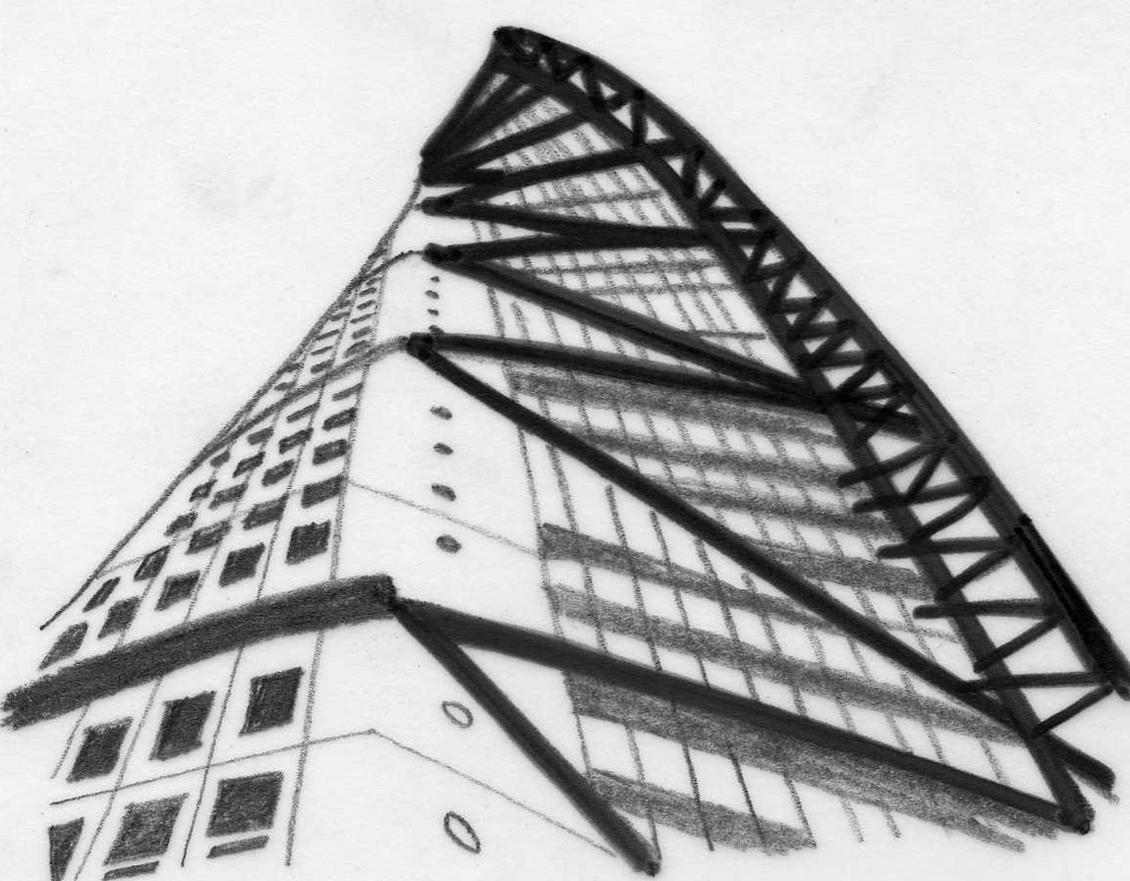 Edicifio con estructura arquitectura en red for Estructura arquitectura