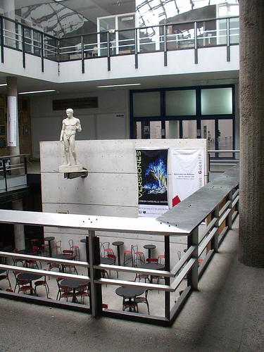 Cafeter a de la facultad de arquitectura unam for Facultad de arquitectura