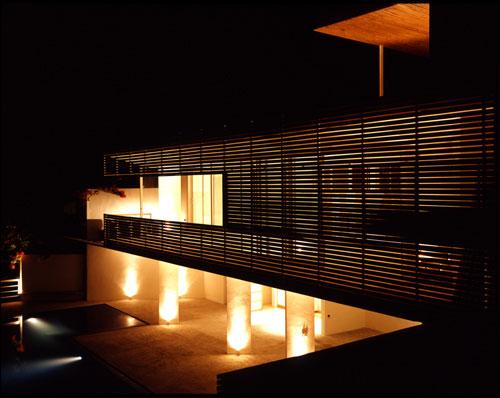 Casas de la Chiripa de noche « Arquitectura en Red