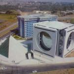 Centro Corporativo Calakmul aérea