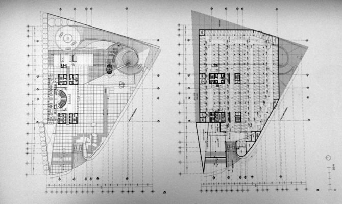 Torre dataflux plantas tipo y estacionamiento for Plantas de arquitectura