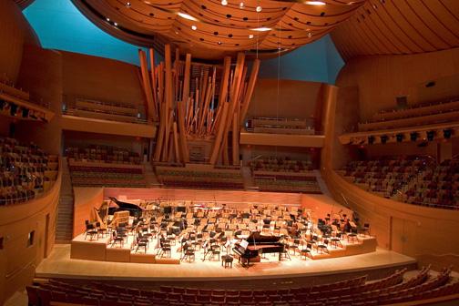 Walt Disney Concert HallWalt Disney Concert Hall Interior