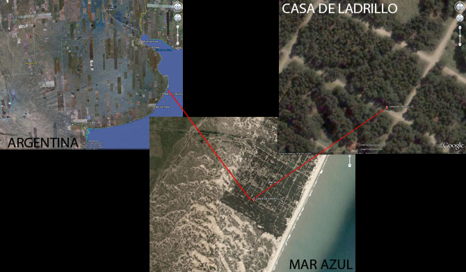 Argentina, Mar Azul