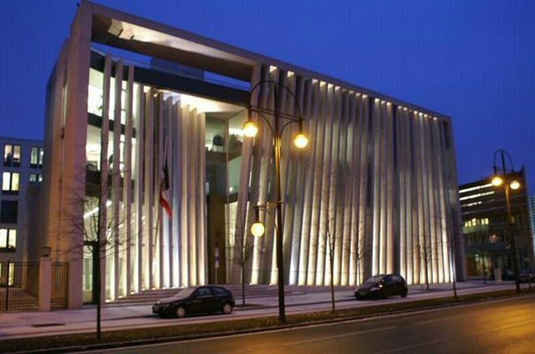 Embajada de m xico en berl n arquitectura en red - Arquitecto de brasilia ...