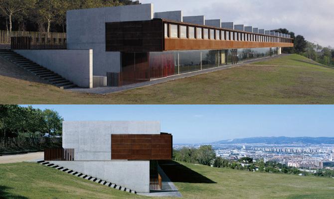 Edificio instituto bot nico de barcelona csic for Jardin botanico montjuic