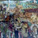 desembarco de los españoles a Veracruz, Diego Rivera