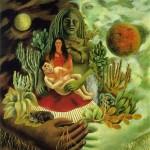 kahlo, abrazo de amor del universo, la tierra 1949