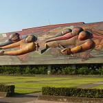 Mural en UNAM por Siqueiros