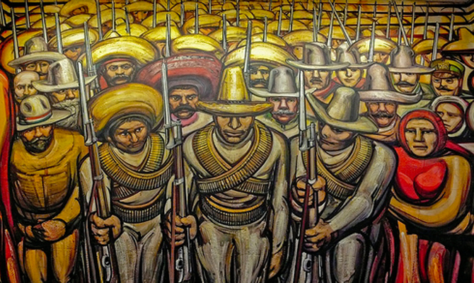 Muralismo mexicano revoluci n social arquitectura en red for Definicion de pintura mural