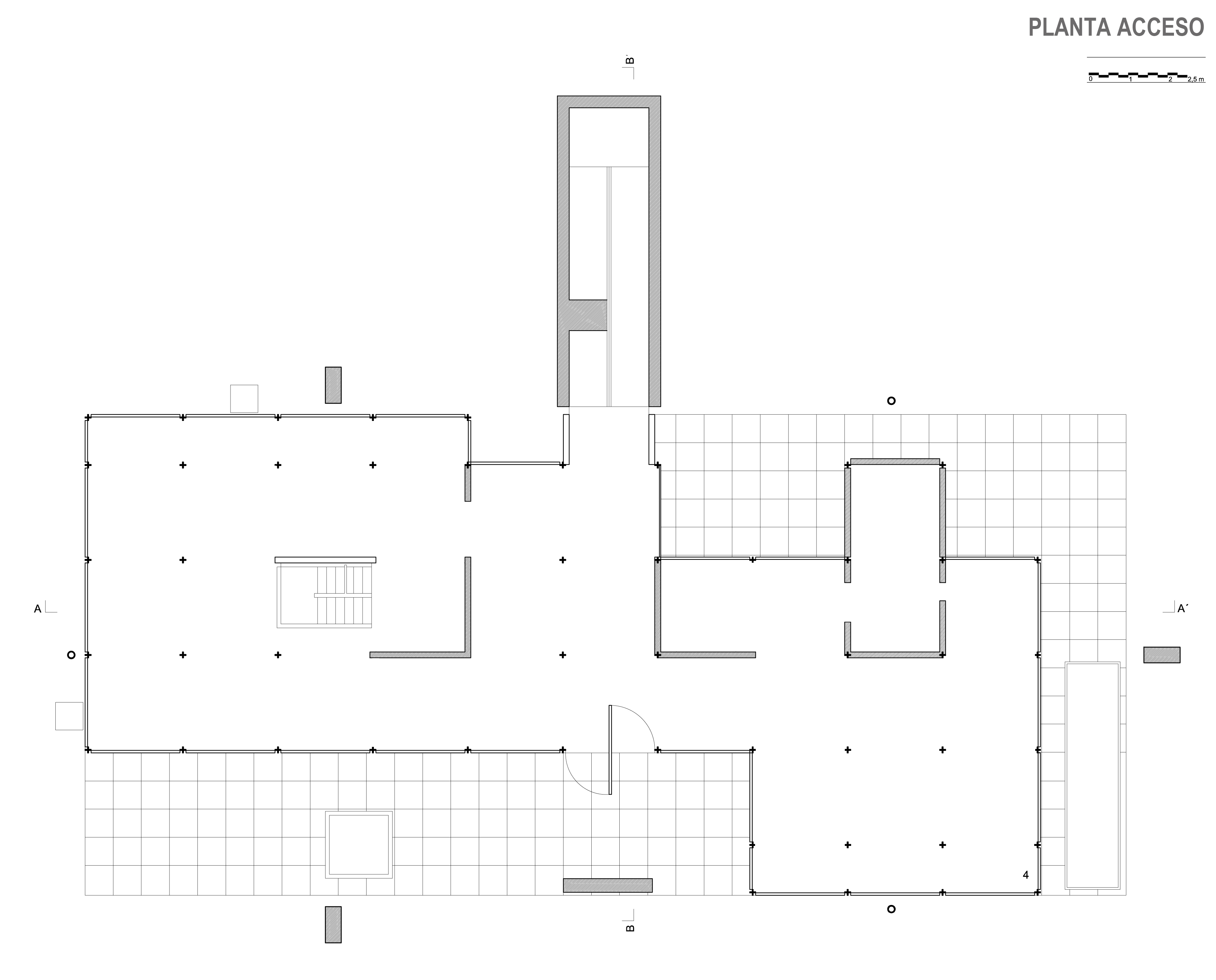 El sistema estructural elemento en la arquitectura for Que es una planta arquitectonica