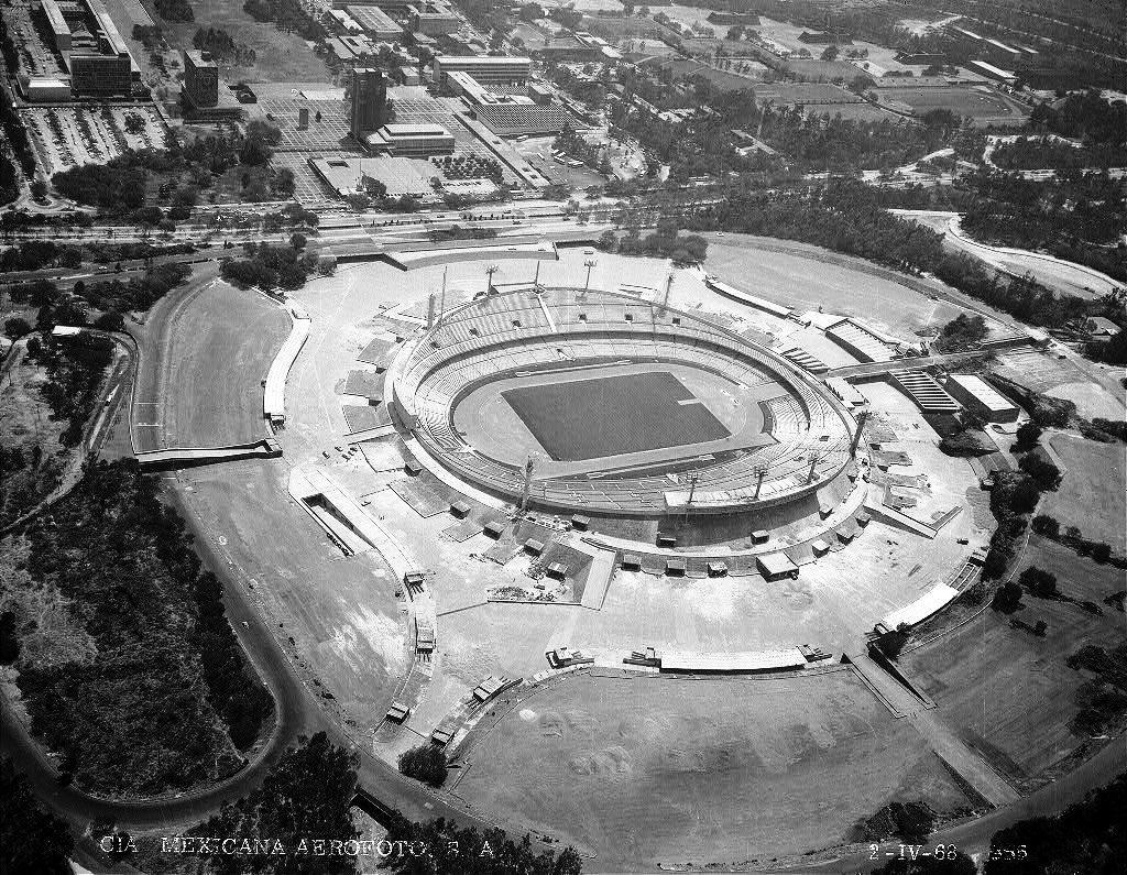 Estadio Olimpico Universitario – Arquitectura en Red