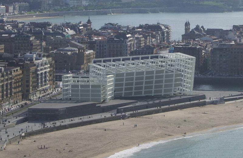 Kursaal estructura arquitectura en red for Estructura arquitectura