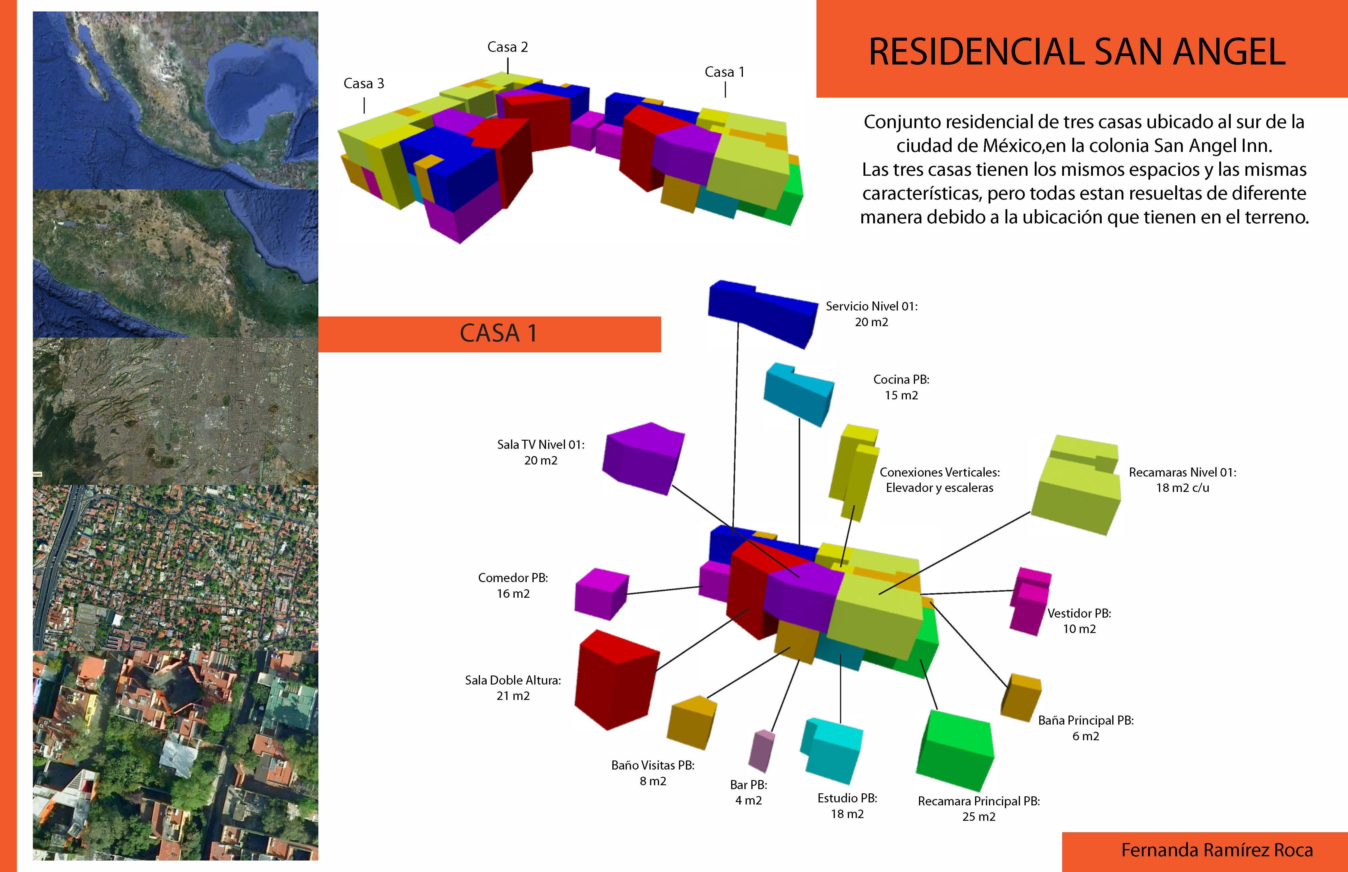 Espacios residencial san angel arquitectura en red - Que es un porche en arquitectura ...